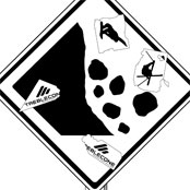 Caution: Falling Rocks and Flying Riders